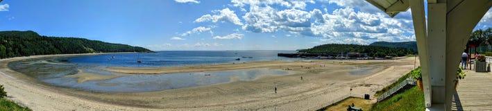 Vista panorâmica da baía imagens de stock
