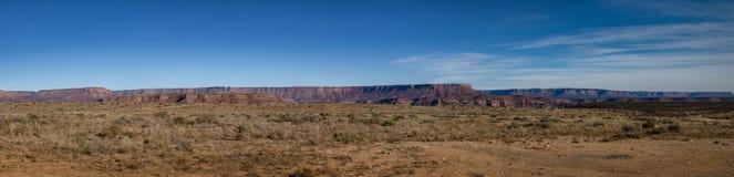 Vista panorâmica da borda ocidental de Grand Canyon - o Arizona, EUA Fotografia de Stock Royalty Free