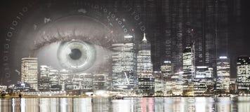 Vista panorâmica da cidade imagem de stock royalty free