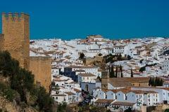 Vista panorâmica da cidade de Ronda Imagem de Stock
