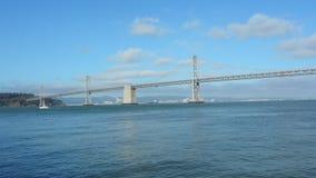 Vista panorâmica da ponte da baía de Oakland vídeos de arquivo