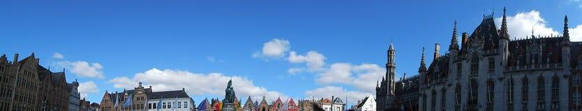 Vista panorâmica da skyline de Bélgica Imagem de Stock
