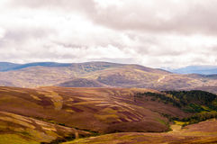 Vista panorâmica das montanhas Imagem de Stock Royalty Free