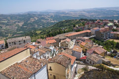 Vista panorâmica de Acerenza Basilicata Italy Imagens de Stock Royalty Free