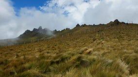 Vista panorâmica de Cerro Puntas na área perto da vila de Checa Fotografia de Stock Royalty Free