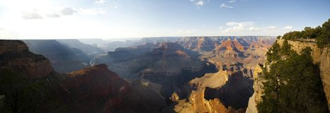 Vista panorâmica de Grand Canyon, o Arizona fotografia de stock