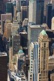 Vista panorâmica de Manhattan como visto do estado Buildi do império Imagens de Stock