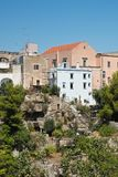 Vista panorâmica de Massafra Puglia Italy imagem de stock
