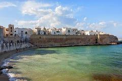 Vista panorâmica de Monopoli, Puglia fotos de stock