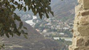 Vista panorâmica de Mtskheta, Geórgia vídeos de arquivo