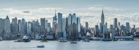 Vista panorâmica de New York City, Midtown fotos de stock royalty free