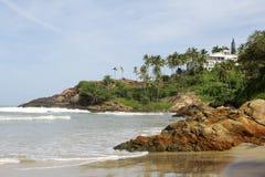 Praias de Kovalam Foto de Stock Royalty Free