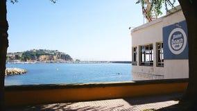 Vista panorâmica de Sant Feliu de Guixols fotos de stock royalty free