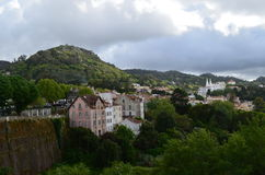 Vista panorâmica de Sintra Imagens de Stock Royalty Free