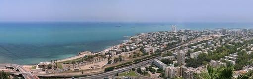 Vista panorâmica de Tel Aviv da cidade Imagens de Stock Royalty Free