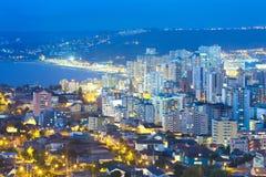 Vista panorâmica de Viña Del Mar fotos de stock