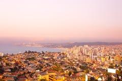 Vista panorâmica de Viña Del Mar foto de stock royalty free