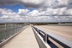 A vista panorâmica dirigiu em Marco Island, Florida imagem de stock