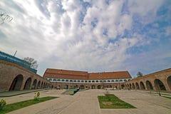 Vista panorâmica do bastião Maria Theresia de Timisoara Foto de Stock Royalty Free