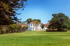 Vista panorâmica do rei botânico real Gardens e museu, Peradeniya, Sri Lanka fotografia de stock royalty free