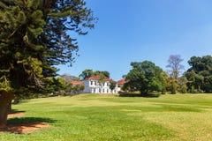 Vista panorâmica do rei botânico real Gardens e museu, Peradeniya, Sri Lanka imagens de stock royalty free