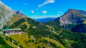 Vista panorâmica dos cumes 7 Fotos de Stock Royalty Free