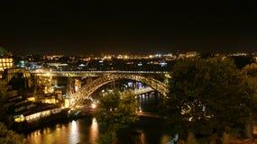 Vista panorâmica e beleza da cidade de Porto, Portugal Foto de Stock