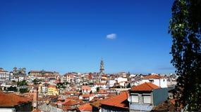 Vista panorâmica e beleza da cidade de Porto, Portugal Foto de Stock Royalty Free