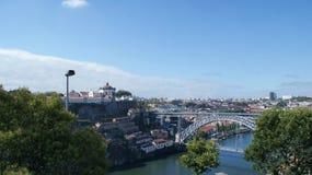 Vista panorâmica e beleza da cidade de Porto, Portugal Imagens de Stock Royalty Free