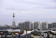 Skyline de Berlim Imagens de Stock Royalty Free