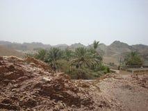 Vista panorâmica em Sultanat de Omã Imagens de Stock