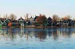 Vista panorâmica, Holanda foto de stock