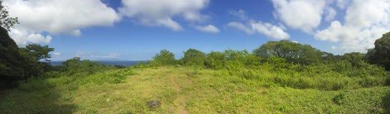 Vista panorâmica nicaraguense do lago fotos de stock