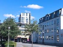 Vista panorâmica sobre Herning, Dinamarca Foto de Stock Royalty Free