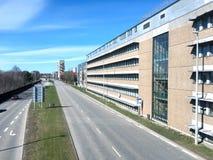Vista panorâmica sobre Herning, Dinamarca Imagem de Stock