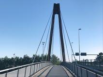Vista panorâmica sobre o cruzamento da Herning-categoria, Dinamarca Foto de Stock