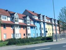 Vista panorâmica sobre Silkeborg, Dinamarca Foto de Stock Royalty Free