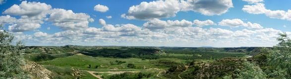 Vista panorâmico Imagens de Stock Royalty Free