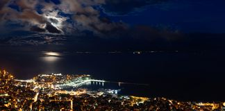 Vista panorâmico da cidade Fotografia de Stock