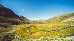 Vista panorâmico das montanhas Foto de Stock