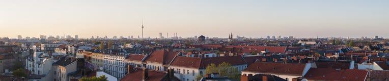 Vista panorâmico de Berlim Fotografia de Stock