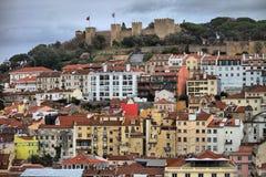 Vista panorâmico de Lisboa Foto de Stock Royalty Free