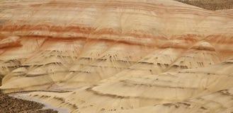 Vista panorâmico de montes pintados imagens de stock