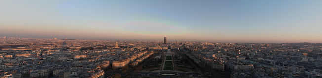 Vista panorâmico de Paris Foto de Stock