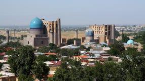 Vista panorâmico de Samarkand Imagem de Stock Royalty Free