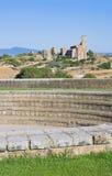 Vista panorâmico de Tuscania. Lazio. Italy. fotografia de stock royalty free