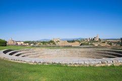 Vista panorâmico de Tuscania. Lazio. Italy. fotos de stock