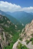 Vista panorâmico do parque nacional Seoraksan, Coreia foto de stock royalty free