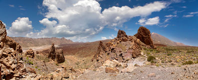 Vista panorâmico do vale Foto de Stock Royalty Free