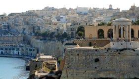 Vista panorà ¡ Łyszczyk De Una Ciudad Blanca Zdjęcie Royalty Free